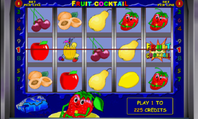 Jugar al tragamonedas Fruit Cocktail