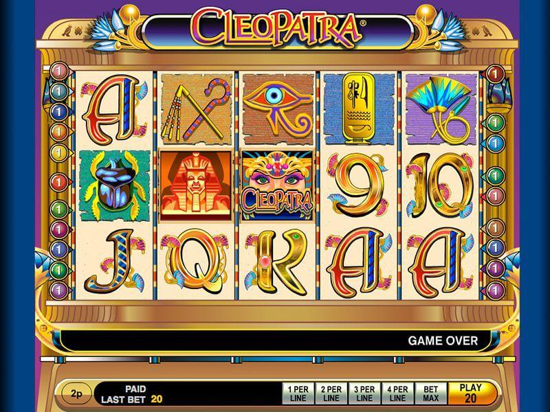 Jugar al tragamonedas Cleopatra