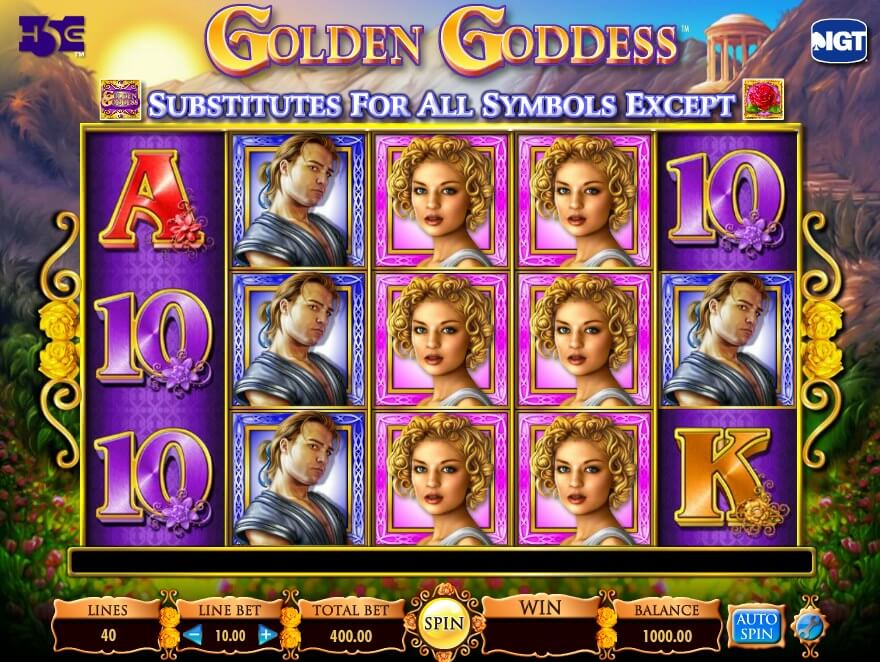 Jugar al tragamonedas Golden Goddess