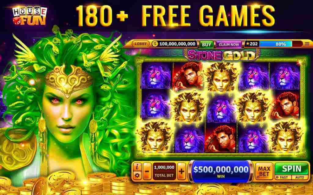 Tragamonedas de casino gratis: Juegos House of Fun